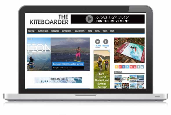 thekiteboarder_website