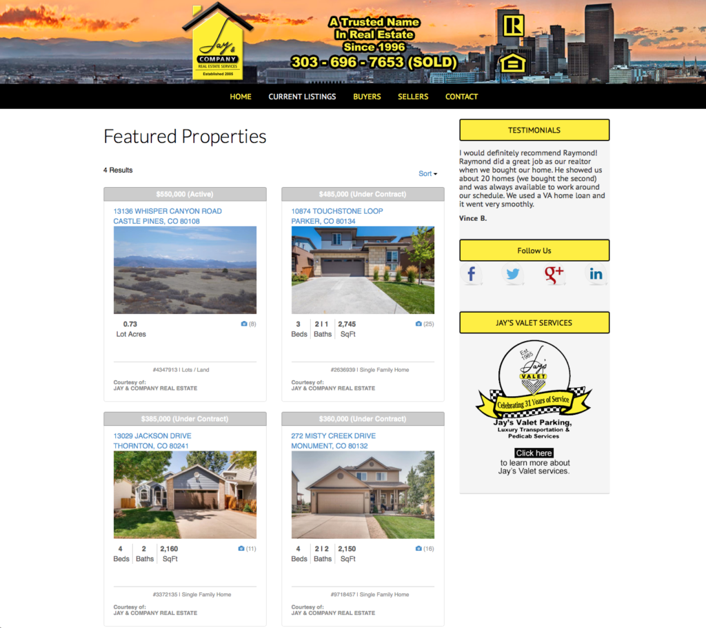 Denver real estate featured properties
